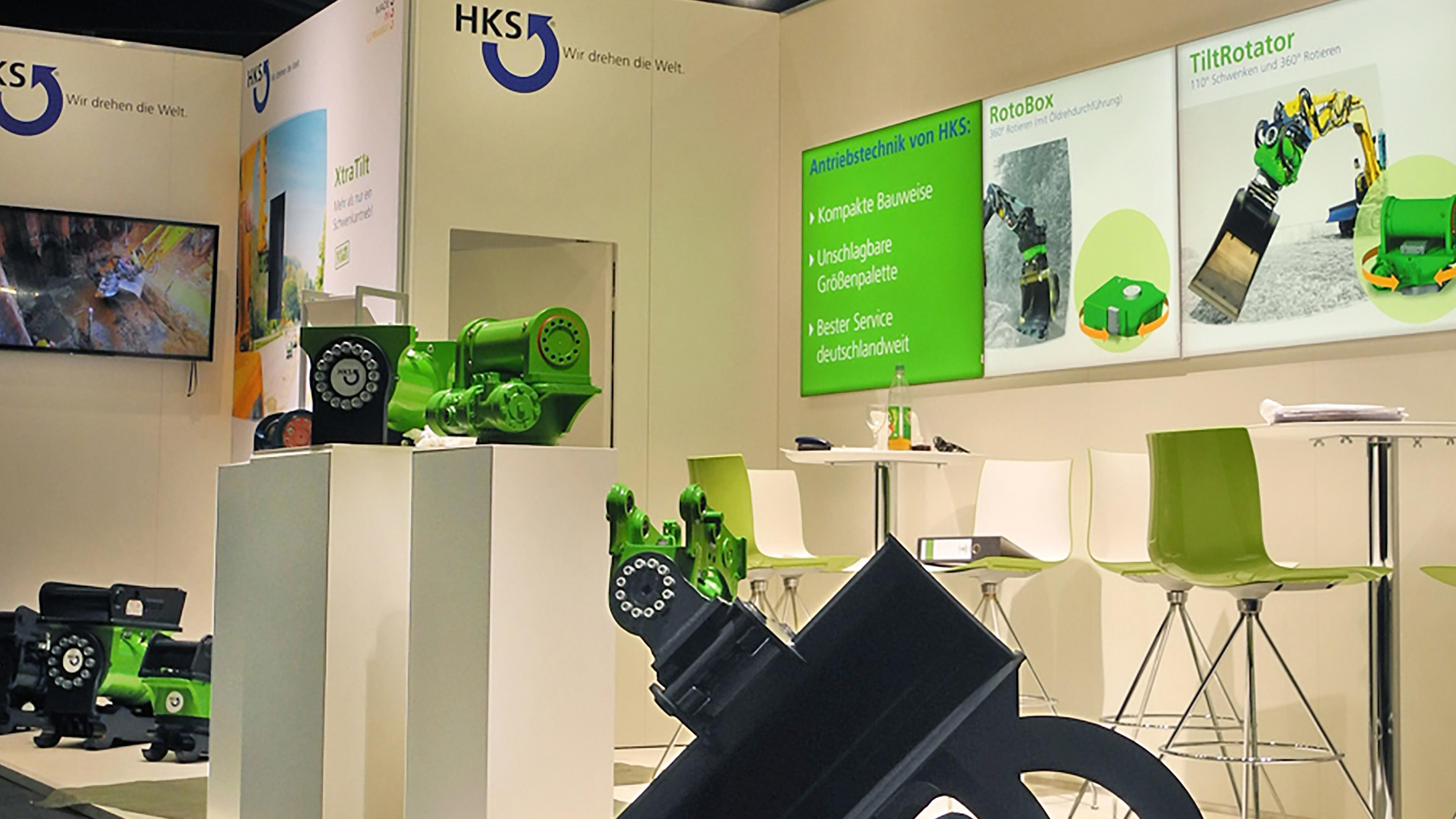 HKS Messestand GalaBau